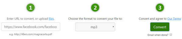 Free Convert URL to MP3 with Online Video Converter/Downloader