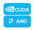 Support AMD APP and NVIDIA® CUDA™