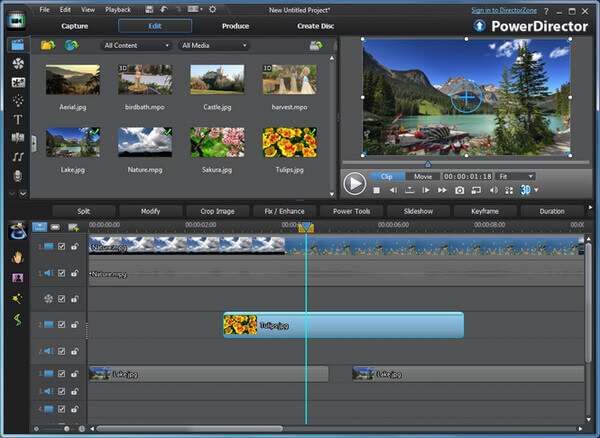 cyberlink powerdirector slideshow templates - top 5 gopro video editing software for mac and windows