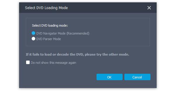Modalità caricamento DVD