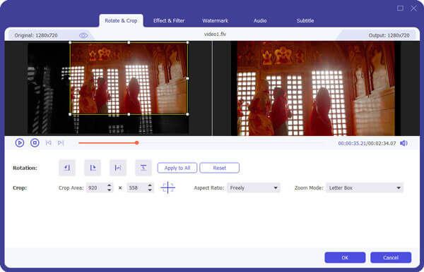 edit function of Video Converter Ultimate