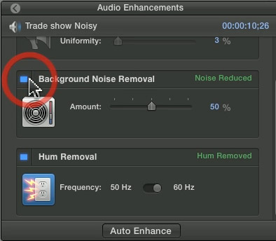 Remove Audio from Video with Final Cut Pro
