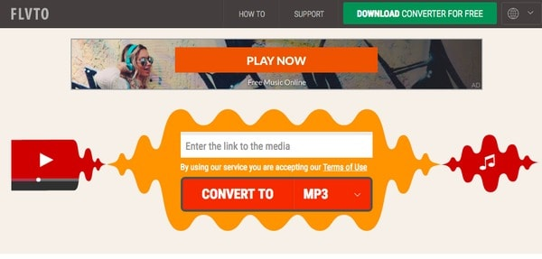 Flvto Convertitore FLV in MP3