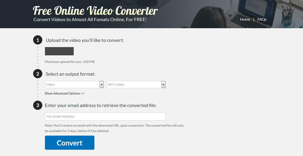 Online MP4 to Xvid Converter