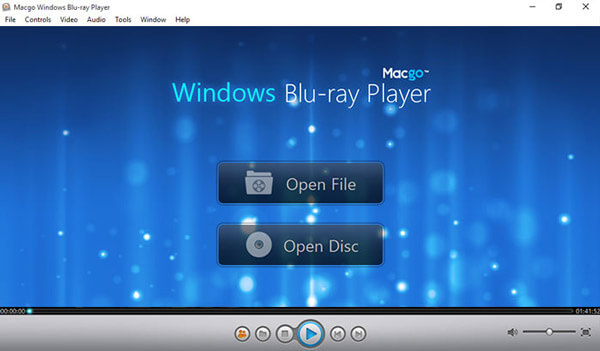Lettore Blu-ray Macgo Windows