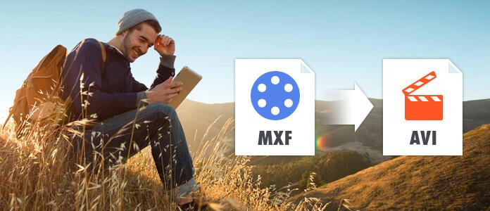轉換MXF為AVI