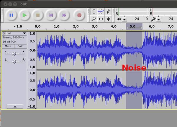 Wybierz część hałasu