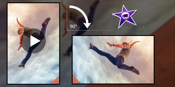 How to rotate a video in imovie rotate video in imovie how to rotate video clips ccuart Image collections