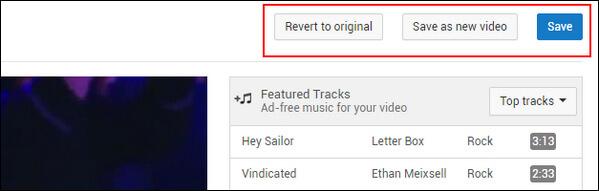 Salva video di YouTube