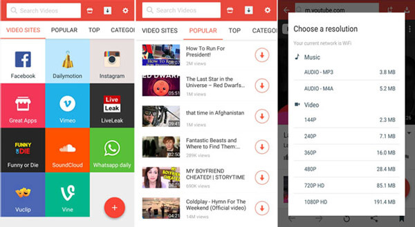 Best 5 Free YouTube to MP3 Downloader for Android to Save YouTube to MP3