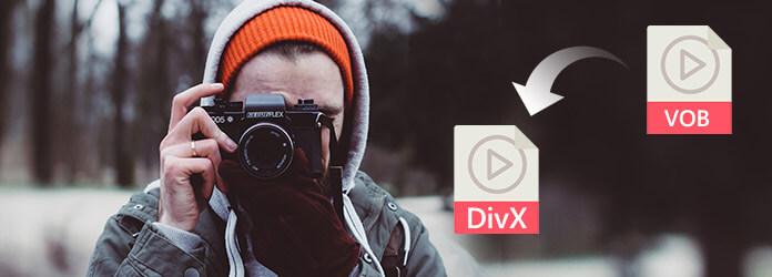 Konwertuj VOB na DivX