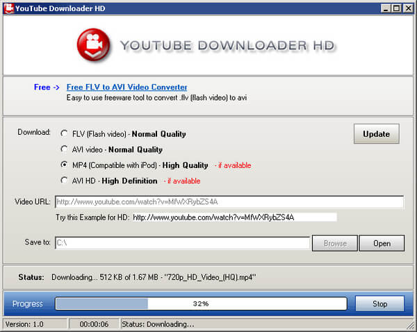 YouTube Downloader HD Screenshot