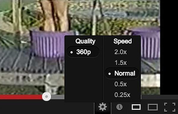 Παίξτε YouTube στο Slow Motion
