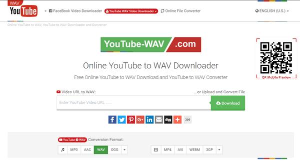 PConvert YouTube a WAV Online