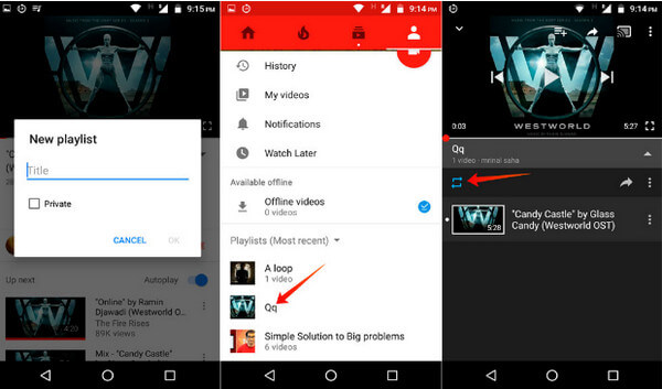YouTube Repeat – Loop Play YouTube Video/Song/Playlist