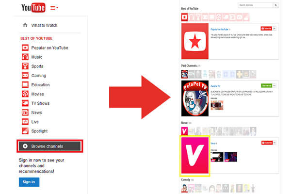 how to download from vevo