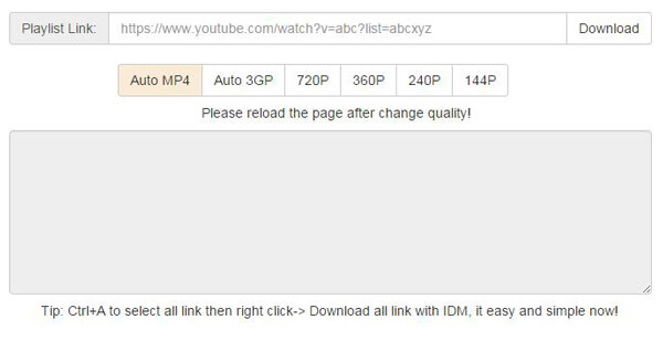 YouTube Playlist Downloader: Download YouTube Playlist