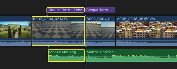 Split Clips in FCP