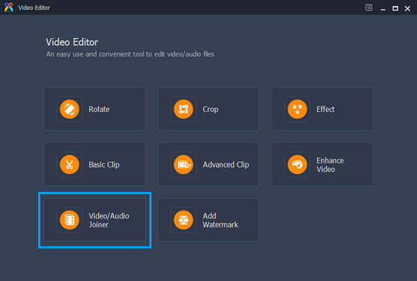 Video/Audio Joiner Feature