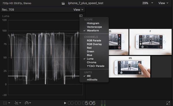 Ambiti video in Final Cut Pro