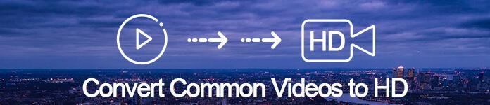 Converti video normale in HD