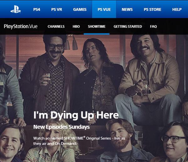 索尼PlayStation Vue
