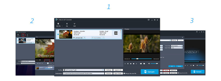 Convertitore di video in GIF