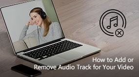 Add or Remove Audio Track