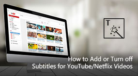 Add or Turn off Subtitles