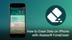Erase Data on iPhone