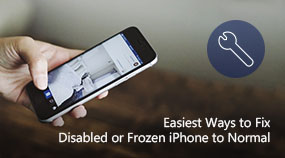 Fix Disabled or Frozen iPhone to Normal
