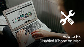 Fix Disabled iPhone on Mac