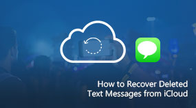 Recover Deleted Text Messages from iCloud