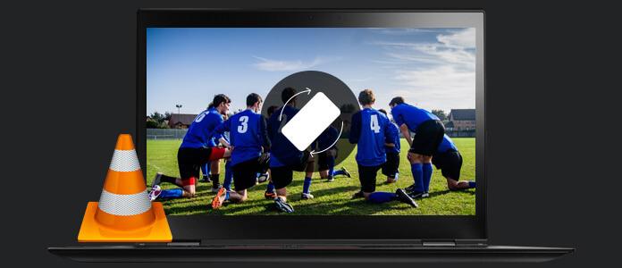 VLC Ruota video