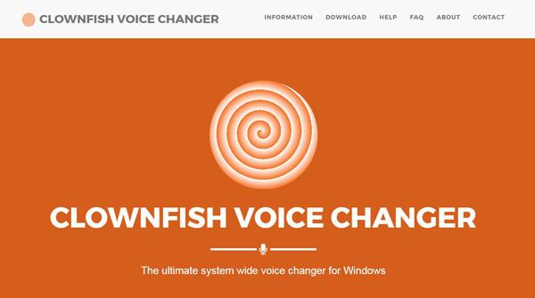 Cambia voce al pesce pagliaccio