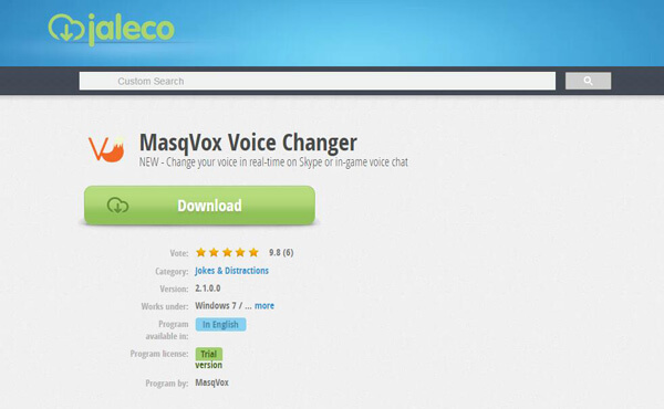 Voice Changer-Voice Changer App for PC/Mac/Skype/Online/Android/iOS