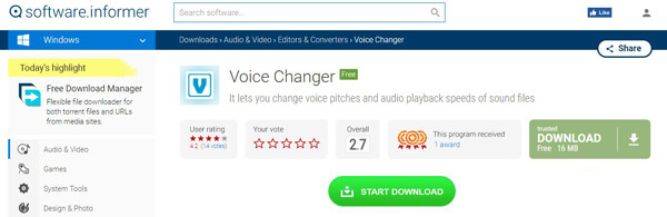 Cambia voce