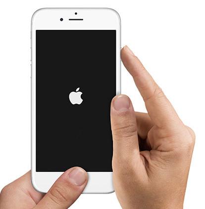 Forza riavvia iPhone