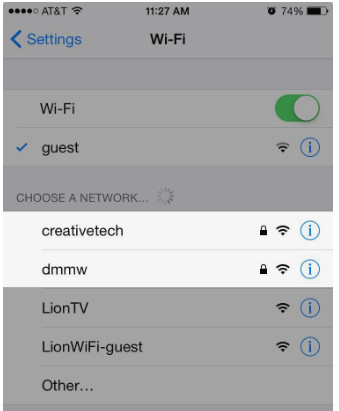 Check Wi-Fi password is protected