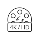 Converti HD / 4K