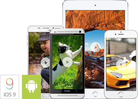 convert WMV to iOS/Android devices compatible formats