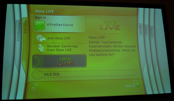 Ενεργοποιήστε το Xbox 360