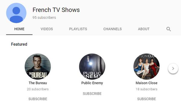 Programmi TV francesi