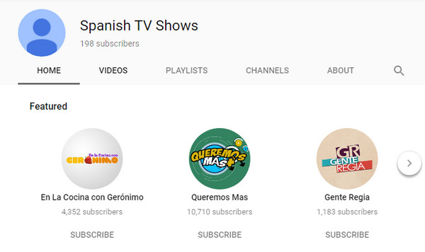 Programmi TV spagnoli