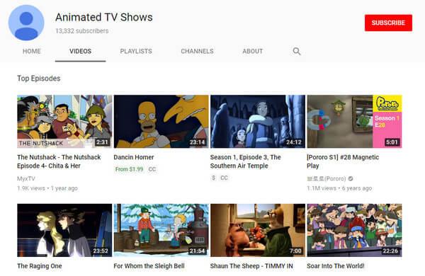 Programmi TV animati