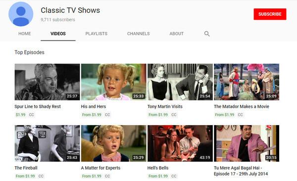 Programmi TV classici