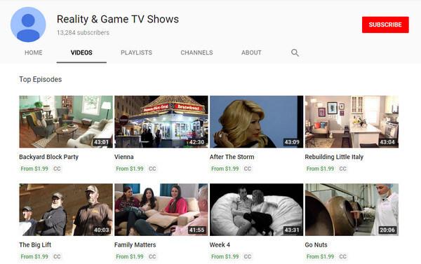 Reality e giochi TV
