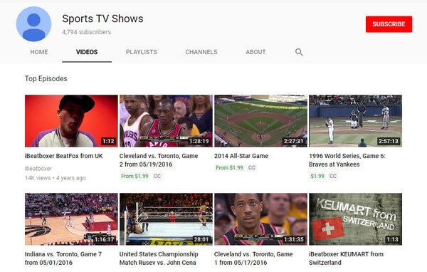 Αθλητικές τηλεοπτικές εκπομπές