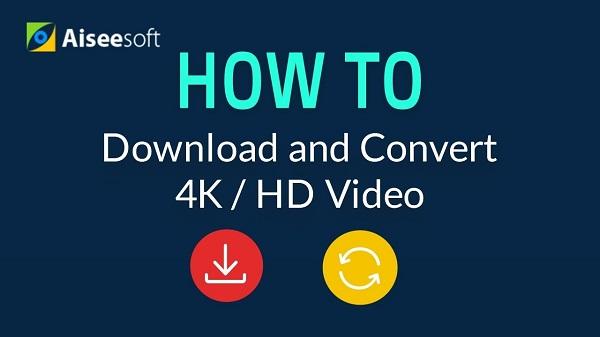 Λήψη και μετατροπή βίντεο 4k