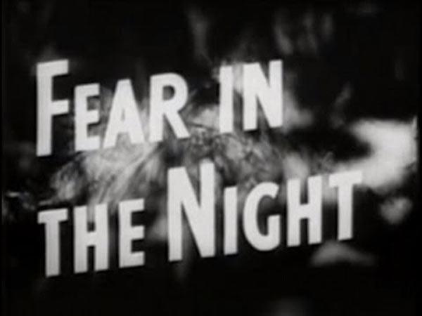 Ο φόβος της νύχτας